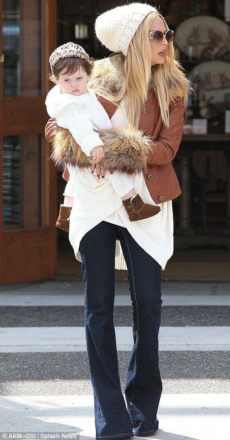 Rachel Zoe, fashionable mama