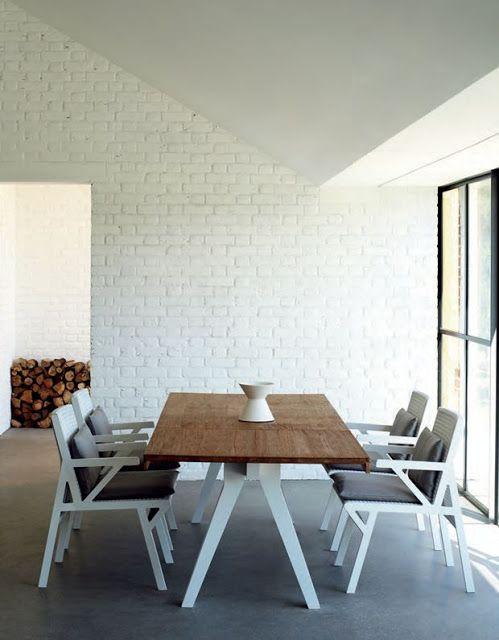 16 best paredes de ladrillo visto images on pinterest - Pared ladrillo blanco ...