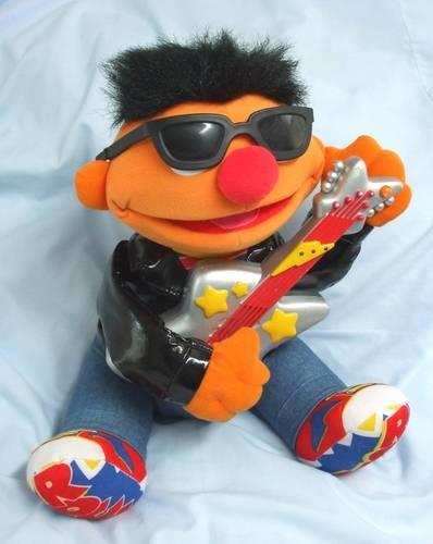 Rock & Roll Sesame Street plush | Ernie | Rock, roll