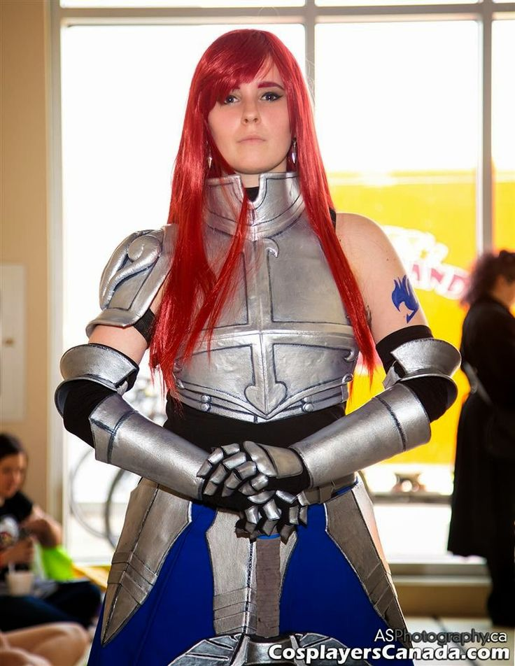 Cosplayers Canada Titania Erza Scarlet From Fairy Tail At Ottawa Con 2014