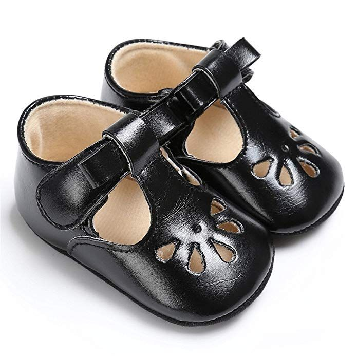 4b719c02e79a1 Amazon.com | BENHERO Baby Girls Soft Sole Bowknot Mary Jane Princess ...