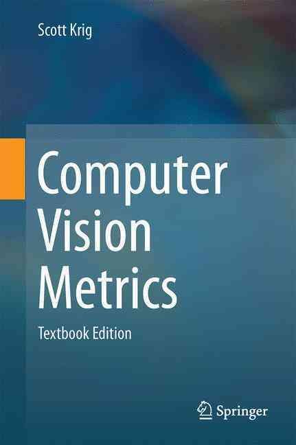 Computer Vision Metrics: Textbook Edition