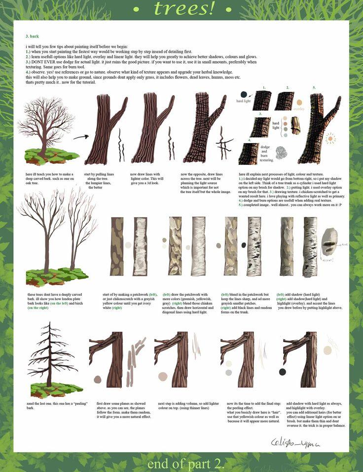 tree tutorial part 2 by calisto-lynn.deviantart.com on @deviantART