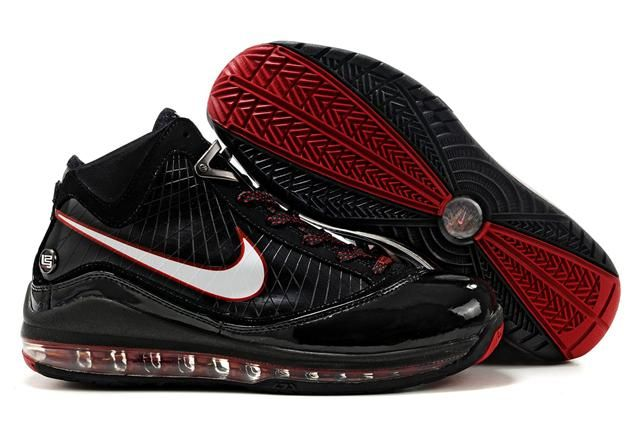 http://www.airfoamposite.com/nike-lebron-7-black-white-red-p-313.html NIKE LEBRON 7 BLACK WHITE RED Only $85.90 , Free Shipping!