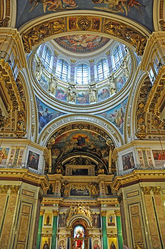 Churches and Cathedrals / St. Isaac Cathedral, St. Petersburg, Russia.