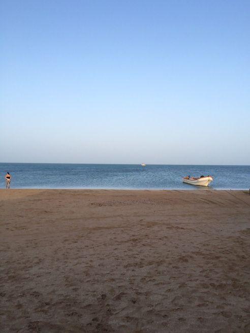 La playa del Cabo de la Vela, Guajira, Colombia. Foto Viviana Londoño