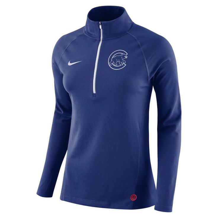Chicago Cubs Top Core Half-Zip Pullover Jacket    #ChicagoCubs  #Cubs  #MLB  #FlyTheW  #EverybodyIn  #Nike
