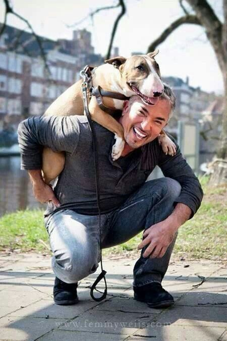 because Cesar Millan is a good person who has done SO MUCH to change how many many Americans view Pit Bulls