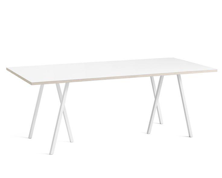 Kök köksbord hay : CASANOVA Møbler — Hay - Loop Stand Bord (250 cm) - hvid | Ting ...