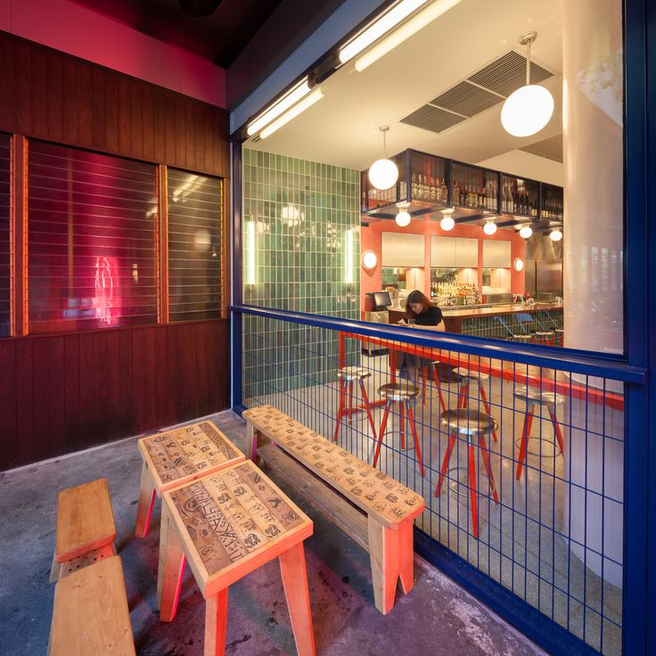 Image 1 of 34 from gallery of Little Bao at 72 Courtyard / JJA - Bespoke Architecture. Photograph by Ketsiree Wongwan