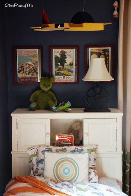 Big Boy Adventurer Bedroom With Reverse Stencil Dresser... I Think I Found  My