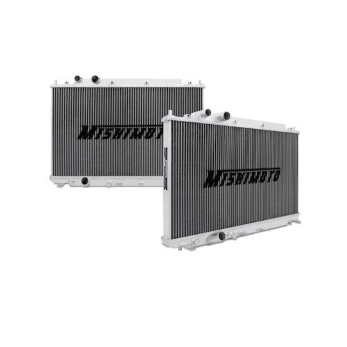 """Mishimoto MMRAD-CIV-06SI Manual Transmission Performance Aluminium Radiator for Honda Civic  Direct fit for the 2006-2011 Honda Civic Si w/ K-series engine  Overall Size: 26.8"""" x 18.2"""" x 2.07"""""""" / Core Size: 14.72"""" x 26.3"""" / Rows: 2  Inlet & Outlet: 1.25"""" / Core Thickness: 1.57"""" / Tank Wall Thickness: 0.08""""  All-aluminum construction includes magnetic drain plug  Mishimoto Lifetime Warranty  Overall size: 26.8 inch x 18.2 inch x 5 inch; core size: 14.72 inch x 26.30 inch  Inlet: 1.25 in..."""