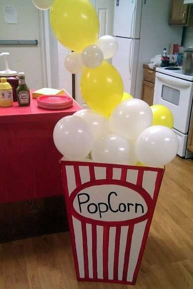 "Host a Movie Night Charge ""admission"" or pass around an empty popcorn tub for donations. #FundraiseFriday"