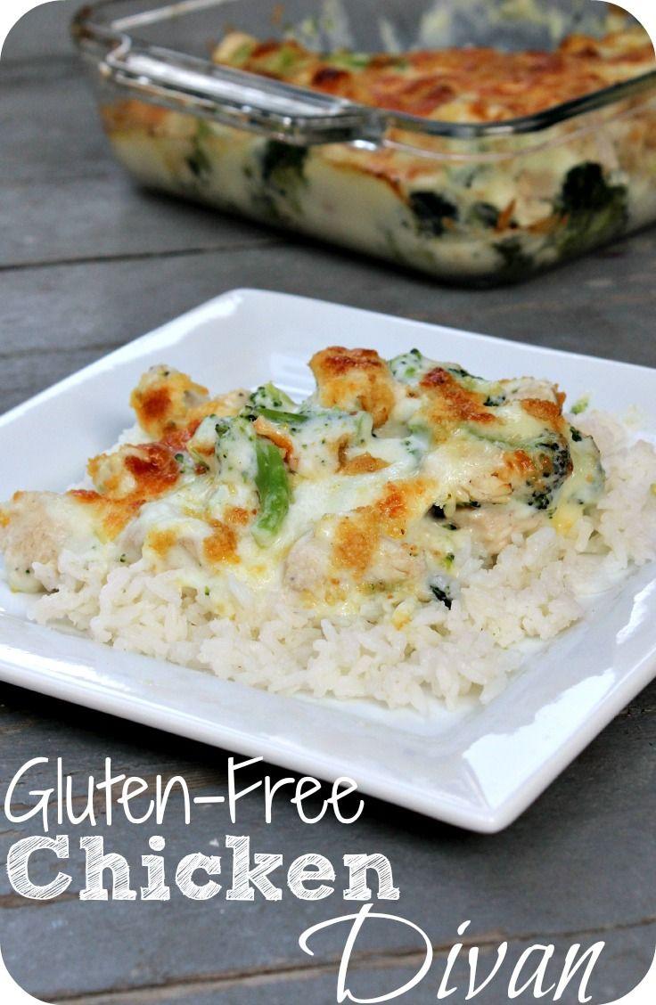 Here is an amazing #glutenfree dinner - Try this Gluten-free chicken Divan recipe tonight!