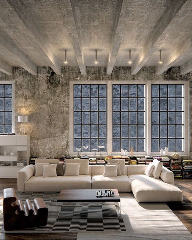 Best 25 urban loft ideas on pinterest loft house studio loft apartments and loft home Contemporary urban living room