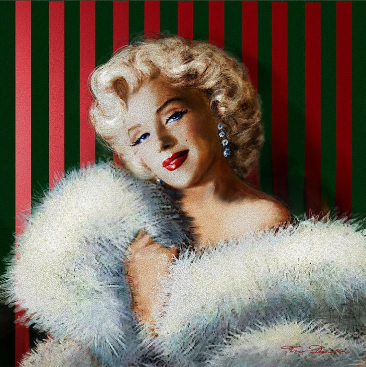 Marilyn 126 D 3 Painting by Theo Danella