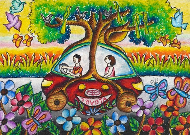 Dream tree carIram Mahbub Nokshi Bangladesh Age:8