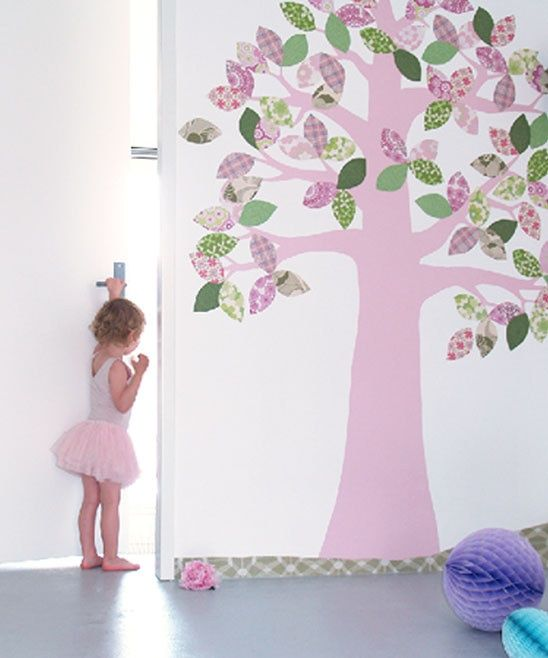 34 best images about trees in rooms rboles en - Papel pintado habitaciones ...