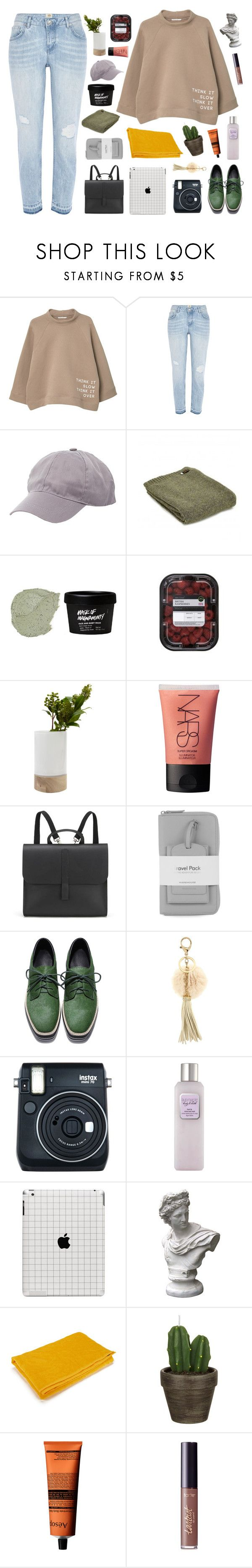 """""""the polaroids ❁ collab w/ nicole!"""" by frostedfingertips ❤ liked on Polyvore featuring MANGO, River Island, Charlotte Russe, Tweedmill, LOTTA, NARS Cosmetics, Danielle Foster, Warehouse, Johnny Loves Rosie and Fuji"""
