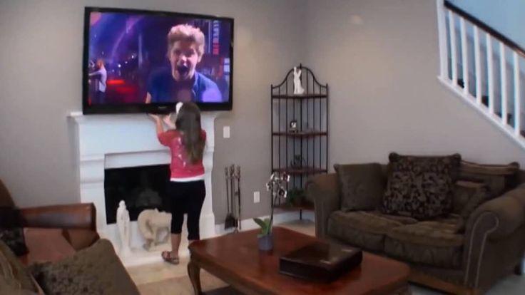 MantelMount Pull Down TV Wall Mount on Vimeo