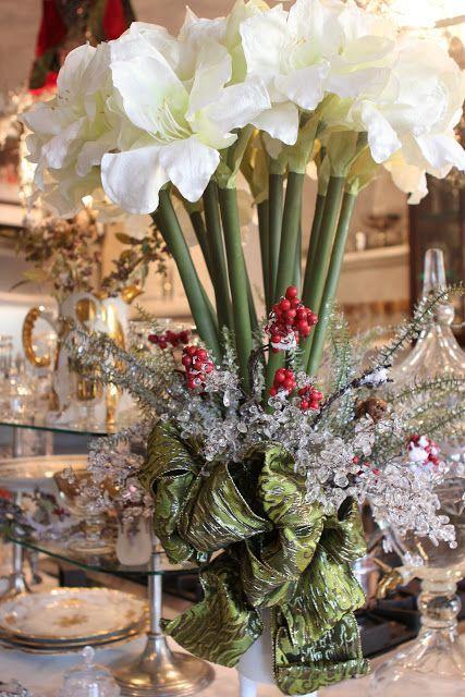 15 Contoh ide2 dekorasi centre piece( hiasan meja makan di tengah2) ruang makan di hari natal, fresh christmas decorating ideas ~ Design Rumah