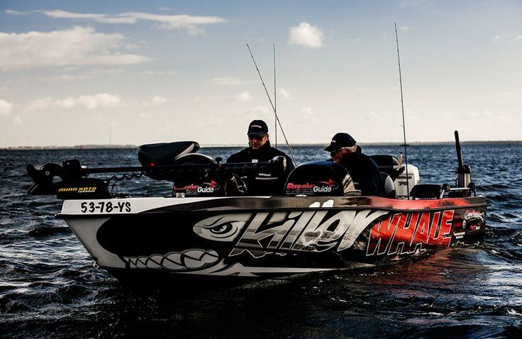 Killer Whale Boatwrapping #Fishboat #signmania #boatwrapping #boats #boatwrap #wrapping #boat #design - www.signmania.com