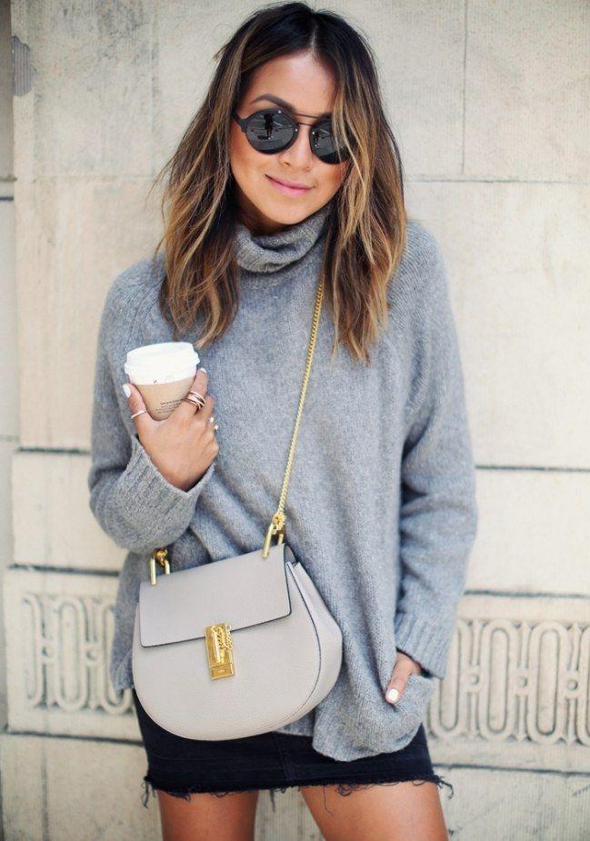 SO stylen modische Frauen ihre Pullover jetzt! – Regina Oks