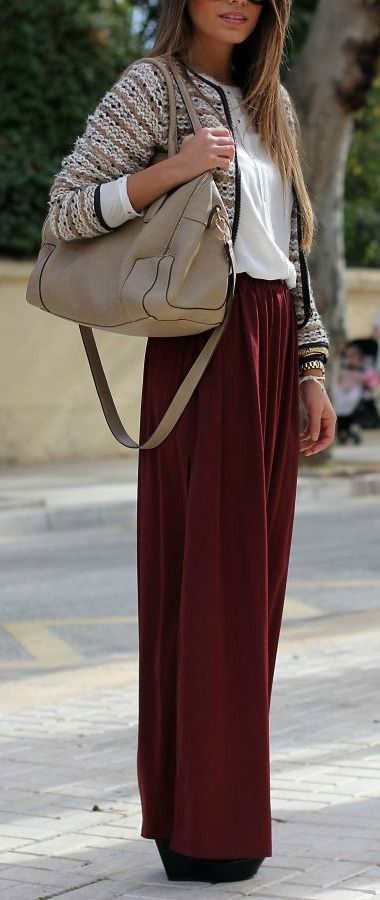 How to wear a maxi skirt in Fall-Winter.