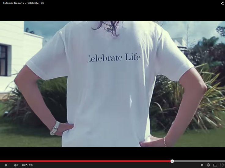 #celebratelife @ http://aldemar-resorts.gr https://www.youtube.com/watch?v=8wwohUtlA90