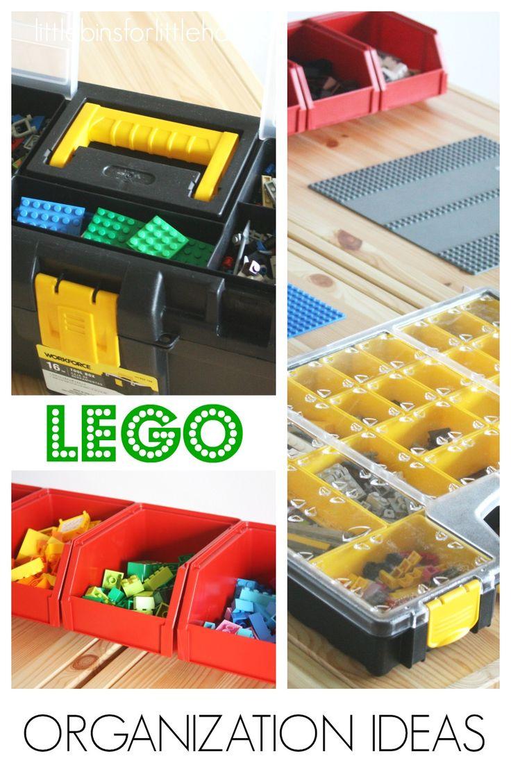 LEGO Organization Ideas from Little Bins for Little Hands