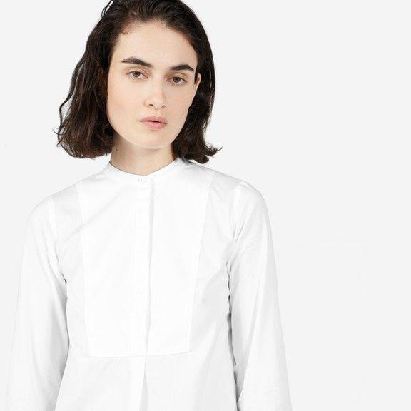 Everlane   The Japanese Oxford Bib Shirt