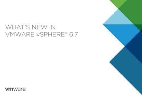 What's new in VMware vSphere 6 7 – Technical PDF | ESX