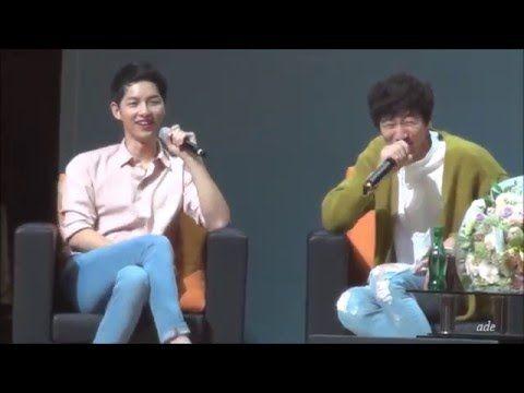 160417 송중기 5th fan meeting 몰래온게스트2- 이광수 - YouTube