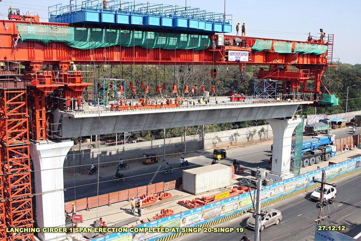 Hyderabad Metro Rail Project | L&T Construction Equipment Ltd. | Hyderabad, Andhra Pradesh, India