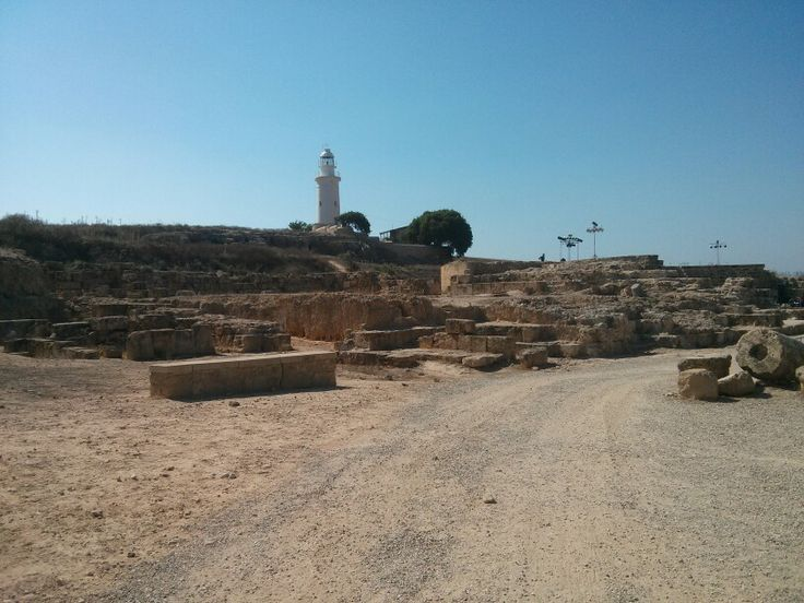 Asclepion and Theatre @ Paphos Mosaics