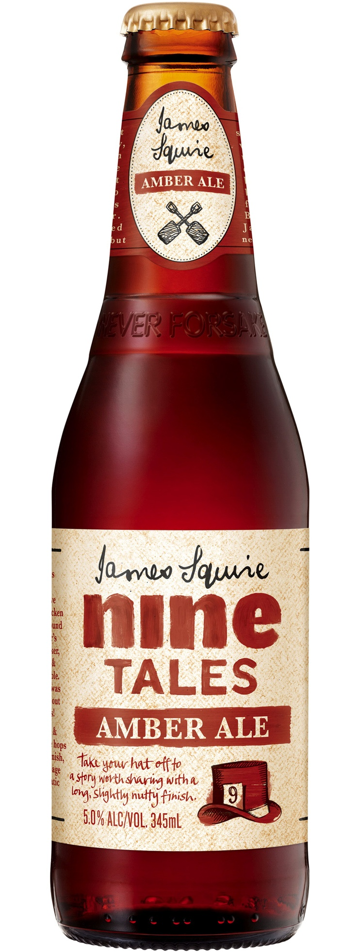 James Squire Nine Tales Amber Ale (replaced amber ale) - Sydney, Australia