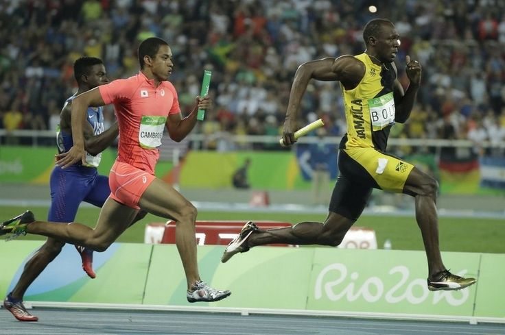 Usain Bolt completes triple-triple and cements unmatched Olympic legacy – in pictures