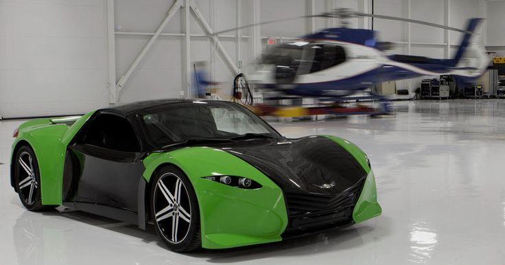 Канадская компания Dubuc представила электрическое купе Tomahawk. В 2018 году купе запустят в мелкосерийное производство.