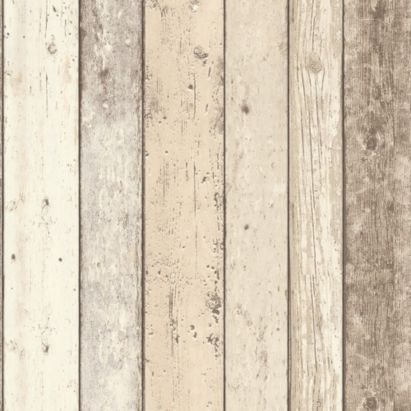 B&Q Shoreline Paste the Wall Wallpaper in Cream by Colours - £14.98 - 10x0.53m