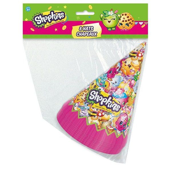 Check out Shopkins Party Hats - Reduced Decorations and Accessories from Wholesale Party Supplies