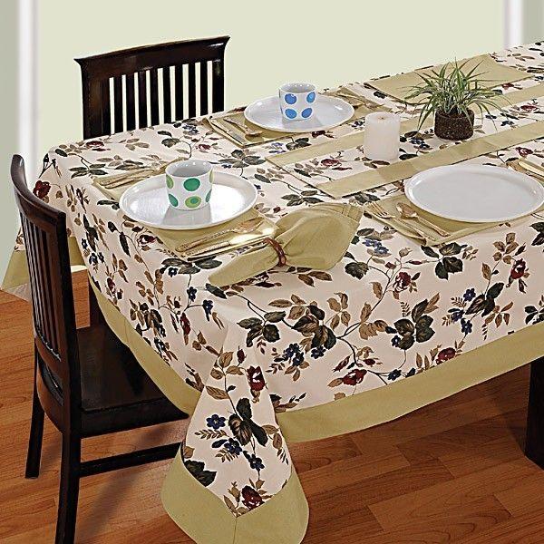 Wheat Printed Rectangular Table Linen-619