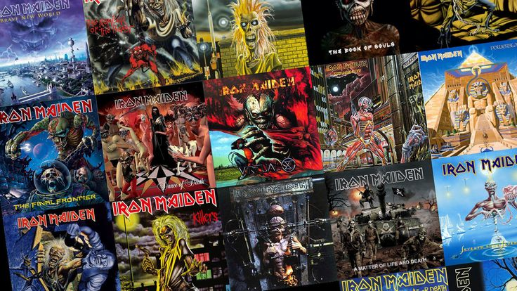 The Best Iron Maiden Cover Art... As Voted By You - Classic Rock