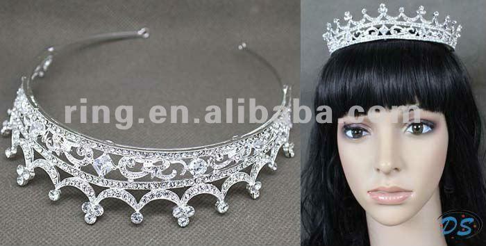 Coroa de Strass tiara concurso do dia das bruxas victorian jóias tomada de coroas