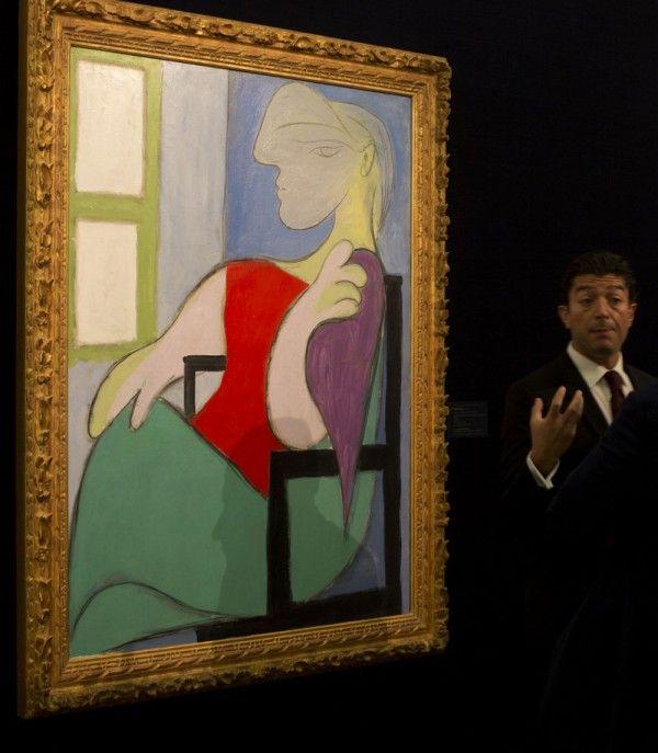 Pablo Picasso's Marie-Thérèse Walter, Femme assise près d'une fenêtre Sold for $45,000,000 at Sotheby's