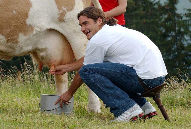roger federer curiosities-life federer-farm  #baselshows