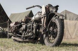 Обои Harley-Davidson WLA, Liberator, 1942 Мотоциклы Армия