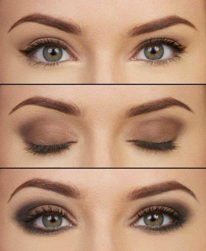 Assez Les 25 meilleures idées de la catégorie Maquillage des yeux  GD55