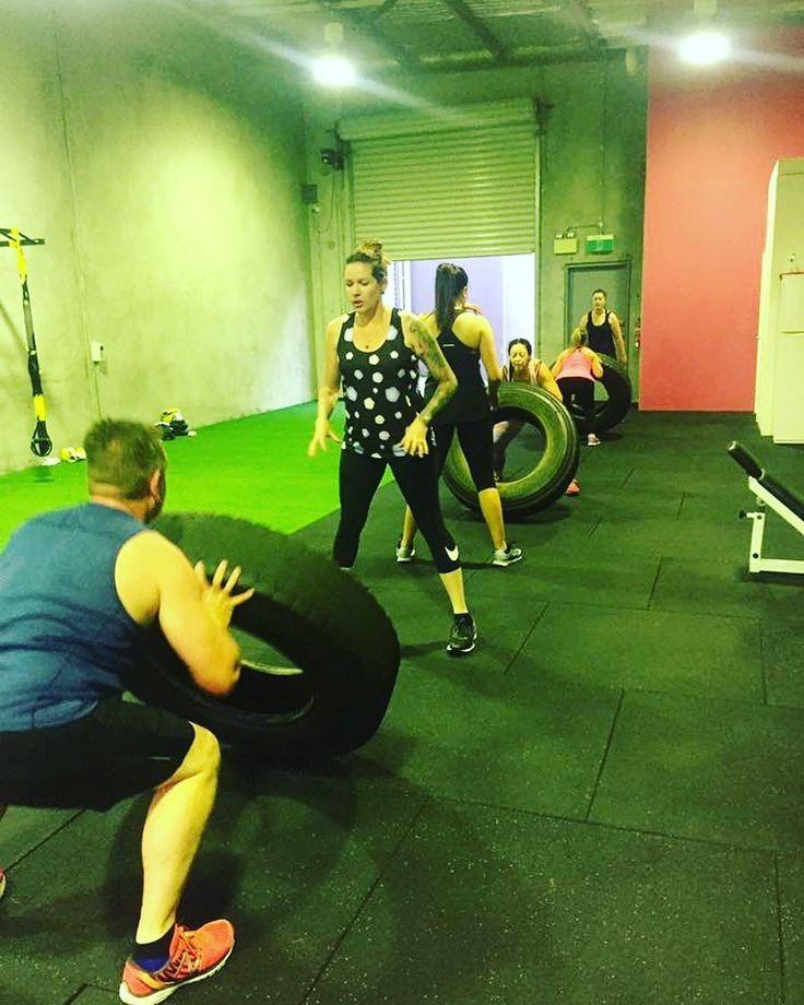 Monday GainsImprovise Adapt Overcome #bootcamp . . . #monday #inspo #body #abs #core #tyres #fitness #fit #fitspo #exercise #groupfitness #getfit #active #sweat #workout #goals #fun #instahealth #trainhard #community #inspiration #motivation #cardio #fitnessjourney #perthfitness #health #personaltrainer #pt