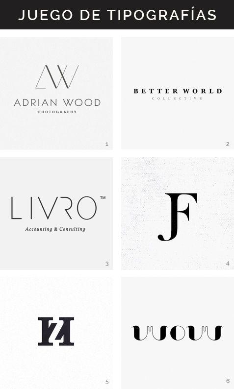 Logotipos tipográficos Hello! Creatividad