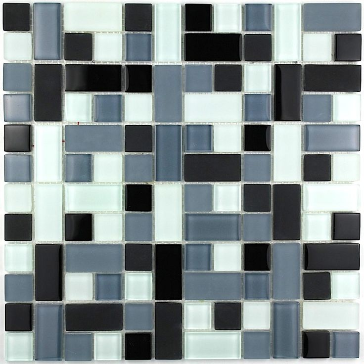 6,67 €   http://www.sygma-group.com/en/glass-mosaic/248-floor-tiles-mosaic-wall-mv-cub-noi-3760227382385.html   Length: 11,81 in, Width: 30 cm, Depth: 4 mm, material: Verre, tile size: differentes tailles, Quantity: 1 plaque, surface: 0,09 m2   For the realisation of your kitchen tiles, walk-in shower, steam room, pool, spa, floor and bathroom walls, we offers a wide range of glass mosaic.   Delivery by Colissimo International: Europe 4-5 days Other countries upon request